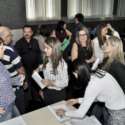 Participaram da reunião gestores dos 75 municípios sergipanos