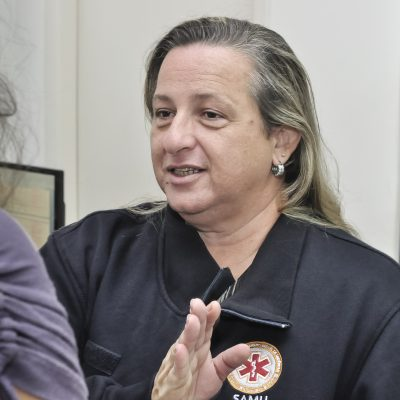 Denise Loucon, gerente de regulação do Samu