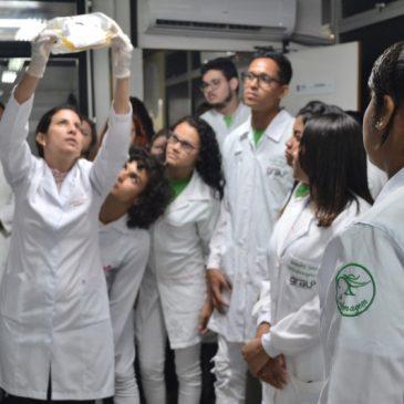 Hemose: Estudantes visitam laboratório que fraciona o sangue
